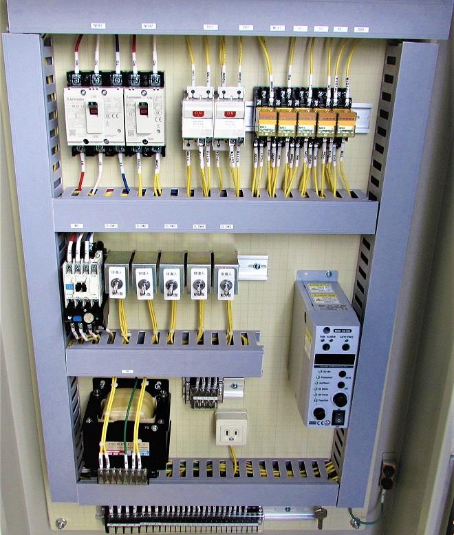 粉体投入装置制御盤