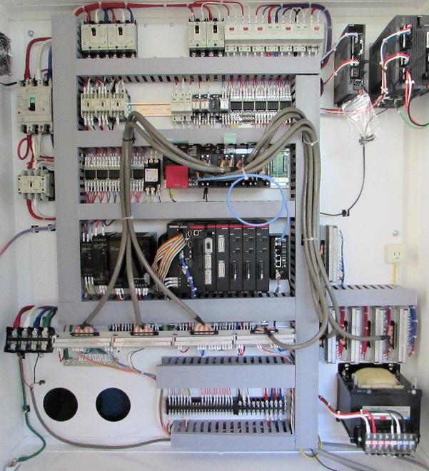 ブラシ検査装置制御盤